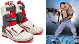 Ripley's hi-top kicks from Aliens are being made by Reebok