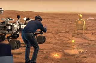NASA is making an exhibit that'll let you roam Mars using Microsoft HoloLens