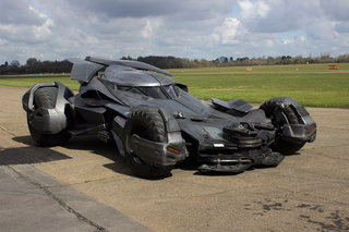 Riding shotgun with Batman: We've driven in the Batmobile
