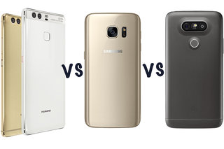 Huawei P9 vs P9 Plus vs Samsung Galaxy S7 vs LG G5: What's the difference?