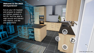 Ikea VR Experience lets you try out that new kitchen before you buy