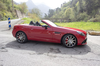 mercedes benz slc roadster first drive image 6