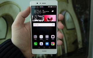 This is the Huawei P9 Lite, hands-on shots from behind closed doors