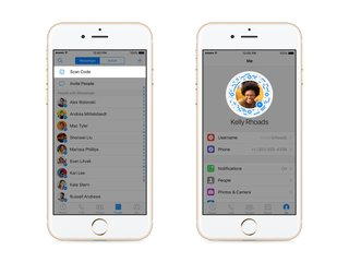 facebook messenger will soon let you scan profile codes to start chats image 2