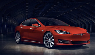 This is the official new 2016 Tesla Model S: Upgraded grille, lights, filter and more