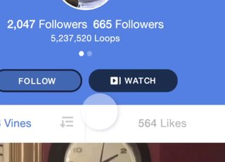 Vine's new Watch button lets you playback every Vine on a channel