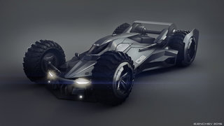 This Batmobile concept is the best we've ever seen, please use it Batfleck