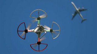 Passenger plane hits alleged drone at landing, police on the hunt for pilot
