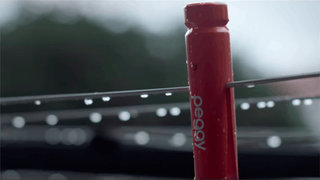 Peggy smart clothes peg detects rain, tells your phone so you can bring wash in