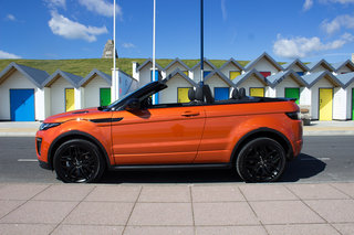 range rover evoque convertible first drive image 4