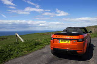 range rover evoque convertible first drive image 5