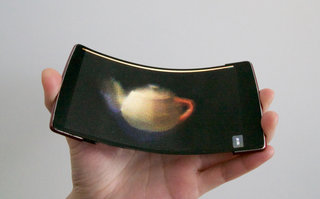 HoloFlex is the world's first flexible holographic smartphone
