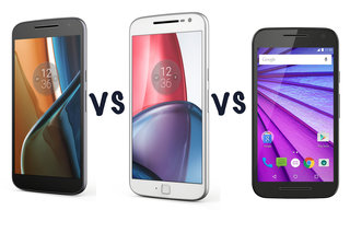 Motorola Moto G4 vs Moto G4 Plus vs Moto G4 Play vs Moto G (2015): Which should you choose?