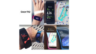 Samsung Gear Fit 2 official looking photos leak, reveal split screen and more