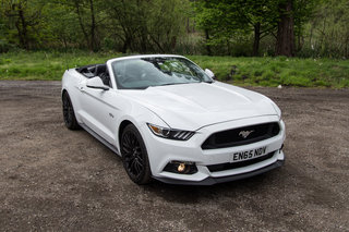 Ford Mustang GT Convertible review: Big, brutal, and now British