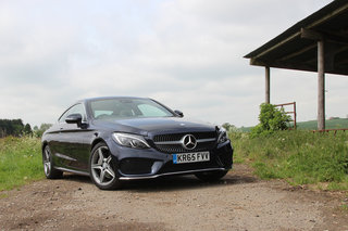 mercedes benz c220d amg line coupe first drive image 1