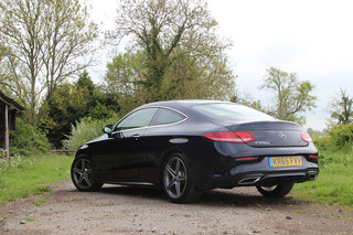 mercedes benz c220d amg line coupe first drive image 2