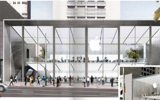 Apple Store to use stunning photovoltaic glass floor to be 100% solar powered
