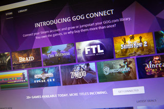 How to transfer Steam games to a GOG.com account for free
