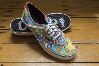 1-Up! Official Nintendo Vans sneakers in pictures: Mario Bros meets 'boarder cool