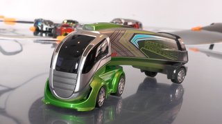 Anki Overdrive Supertrucks: Extending AI racing to big rigs