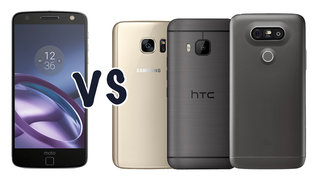 Motorola Moto Z vs Samsung Galaxy S7 vs HTC 10 vs LG G5: What's the difference?