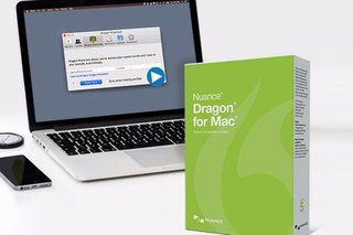 Expert dictation and creation with Dragon for Mac, V5 (50 per cent off)