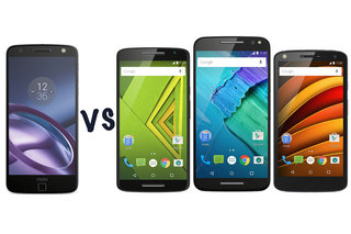 Moto Z vs Moto X: Force, Style, Play compared