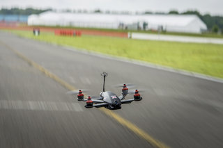nissan drone can go 115mph watch it race the 2017 nissan gt r image 2