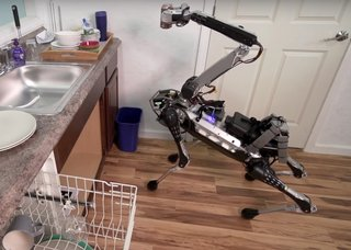 Boston Dynamics Latest Robot Dog Can Do Your Dishes And Fetch A