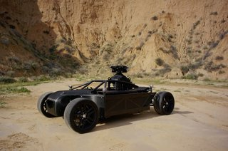 This Blackbird adjustable rig can morph into any car for film shoots