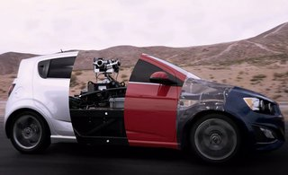 this blackbird adjustable rig can morph into any car for film shoots image 2