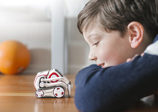 Cozmo is the tiny robot with the big brain, from the team behind Anki Overdrive