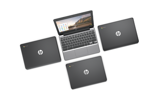 hp made an 11 inch chromebook with a touchscreen display image 2