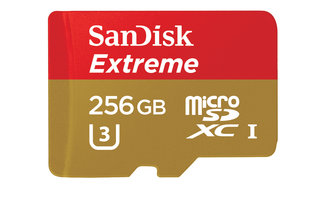 This is that massive microSD you've been waiting for and it's a hefty 256GB