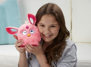 Hasbro's Furby is now a connected toy with LCD screens for eyes