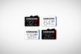 Samsung's UFS memory cards are a new standard, and they're ridiculously fast