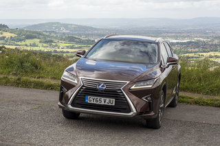 Lexus RX 450h review: An SUV-sized slice of Japanese futurism -