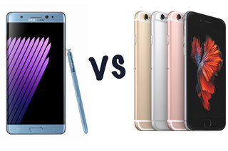 Samsung Galaxy Note 7 vs Apple iPhone 6S Plus: What's the difference?