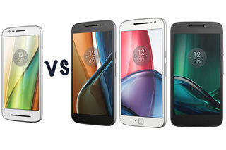 Motorola Moto E3 (2016) vs Moto G4 vs G4 Plus vs G4 Play: What's the difference?