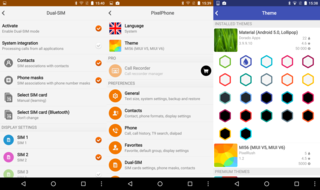 pixelphone app for android makes light work of phoning people image 2