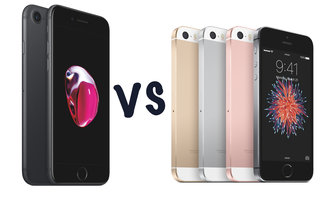 Apple iPhone 7 vs iPhone SE: What's the difference?