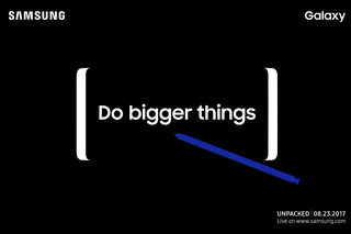 When is the Samsung Galaxy Note 8 launch and can I watch Galaxy Unpacked 2017 online?