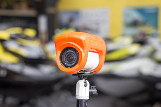 pocket lint adventures out on the water with the sea doo rxt x 300 with the tomtom bandit image 2