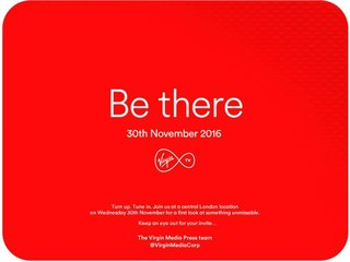 Virgin Media to launch 4K TiVo box on 30 November