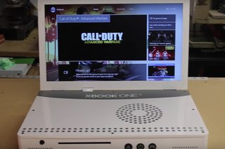 This modder turned an Xbox One S into a 19-inch laptop you can buy