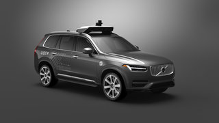 Uber and Volvo jointly working on autonomous taxis, as test fleet arrives in Pittsburgh