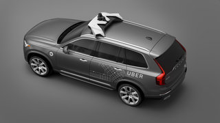 uber and volvo jointly working on autonomous taxis as test fleet arrives in pittsburgh image 2