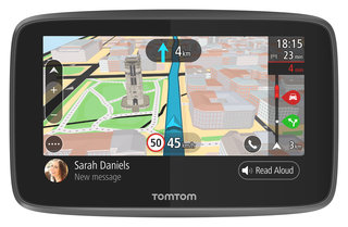 tomtom go adds wi fi smartphone notifications and siri google cortana voice controls image 2