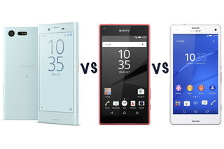 new products ec5a9 b067a Sony Xperia X Compact vs Z5 Compact vs Z3 Compact: What's the d